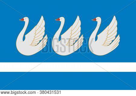 Flag Of Sterlitamak Of Russia
