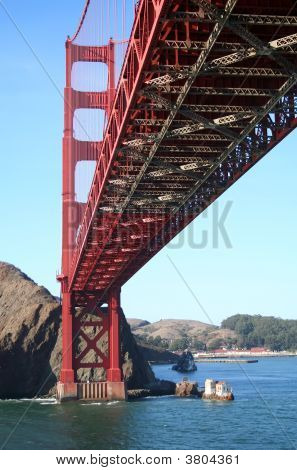 Under The Golden Gate Bridge
