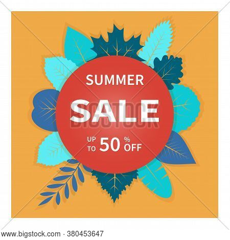 Modern Design Template Summer Sale. Dynamic Business Sale Banners, Special Offer, Advertising Market