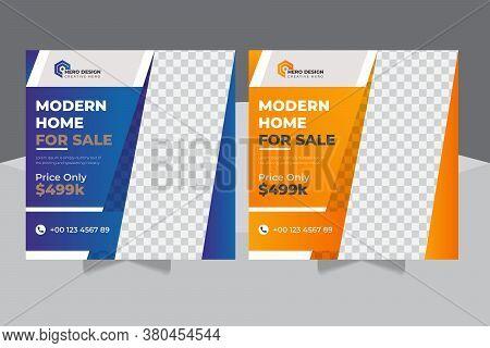 Real Estate Social Media Post Or Construction Social Media Post