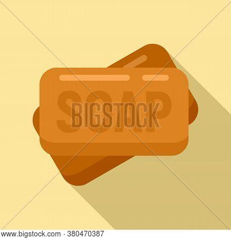 Survival Soap Icon. Flat Illustration Of Survival Soap Vector Icon For Web Design