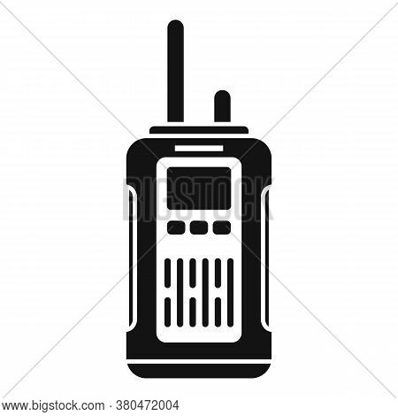 Survival Walkie Talkie Icon. Simple Illustration Of Survival Walkie Talkie Vector Icon For Web Desig