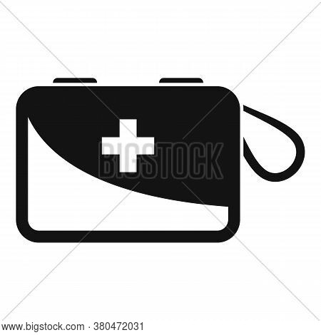 Survival First Aid Kit Icon. Simple Illustration Of Survival First Aid Kit Vector Icon For Web Desig