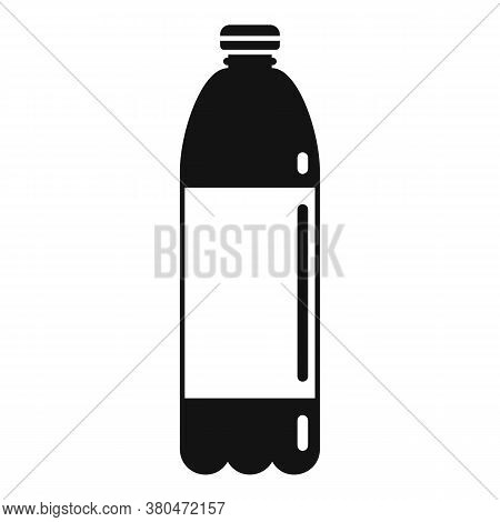 Survival Water Bottle Icon. Simple Illustration Of Survival Water Bottle Vector Icon For Web Design