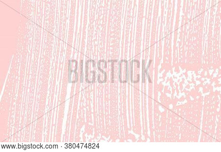 Grunge Texture. Distress Pink Rough Trace. Grand Background. Noise Dirty Grunge Texture. Fascinating