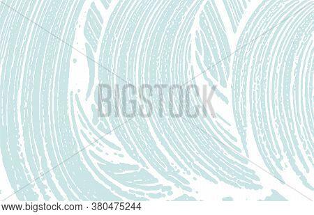 Grunge Texture. Distress Blue Rough Trace. Decent Background. Noise Dirty Grunge Texture. Uncommon A