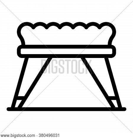 Soft Chair Dressing Room Icon. Outline Soft Chair Dressing Room Vector Icon For Web Design Isolated