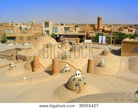 Travel Iran: View of Kashan