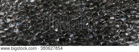 Material For Elasticizing Products And Insulation. Elastic Fine Mesh Structure. Softening And Suppor