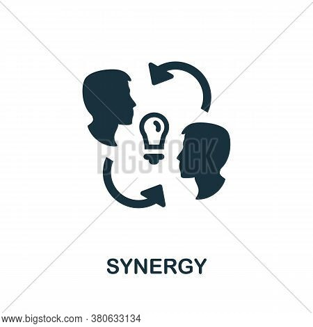 Synergy Icon. Simple Element From Team Building Collection. Creative Synergy Icon For Web Design, Te
