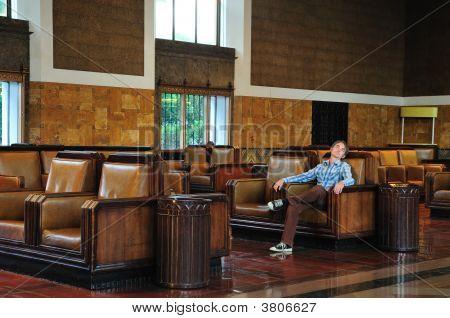 Sleeping In Station