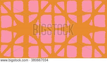 Japanese Tie Dye Seamless Pattern. Geometric Bohemian Asian Tie Dye Texture. Premium Japanese Clothe