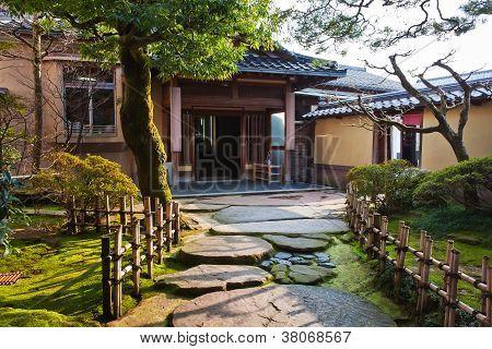 Japanese Garden at Nagamachi Samurai Distric Nomura-ke
