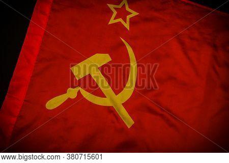 Flag Of The Union Of Soviet Socialist Republics