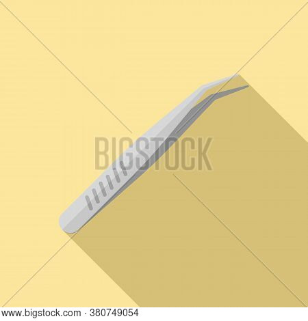 Watch Repair Forceps Icon. Flat Illustration Of Watch Repair Forceps Vector Icon For Web Design