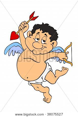 Valentine's Day Chubby Cupid