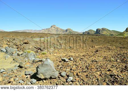 Mirador De Las Narices Del Teide In Mount Teide National Park In Tenerife