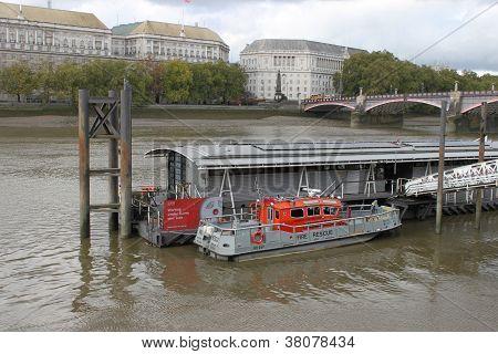 Firebrigade boat