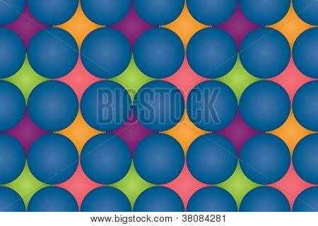 Dotted repeating pattern