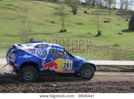 Touareg Rally Car