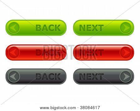 Back - Next Button