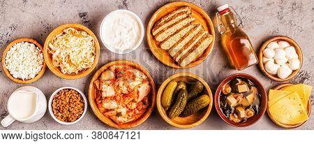 Fermented Food, Probiotics - Kefir, Kombucha, Sauerkraut, Pickles, Miso Soup, Tempeh, Natto, Kimchi,