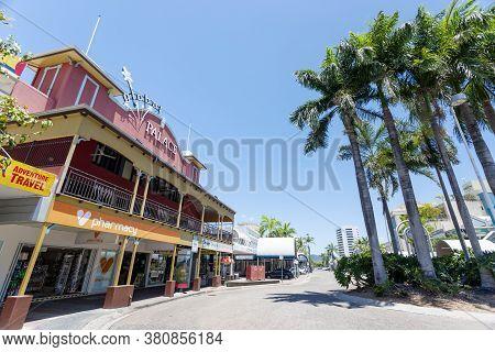 Cairns, Australia - October 15, 2009: The Cairns Central Shopping Center