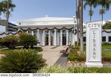 Cairns, Australia - October 15, 2009: Cairns City Library