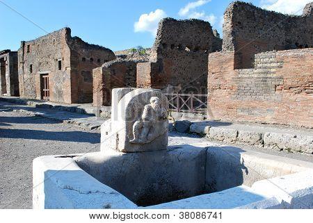 Pompeii Water Tap