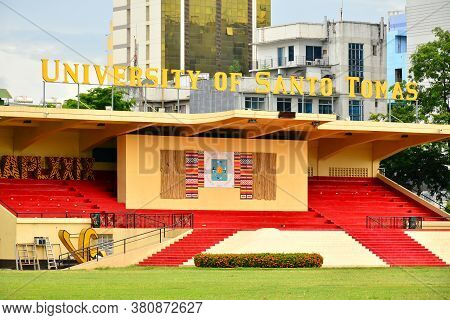 Manila, Ph - June 2 - University Of Santo Tomas Stadium On June 2, 2018 In Manila, Philippines.