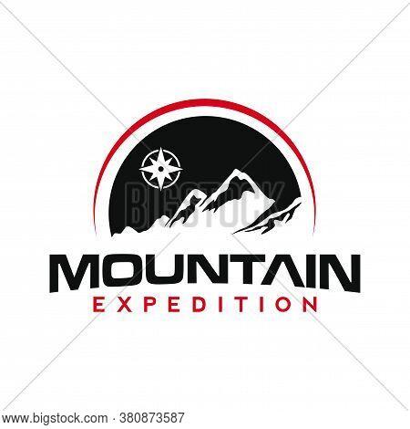 Mountain Logo And Adventure Logo Vector