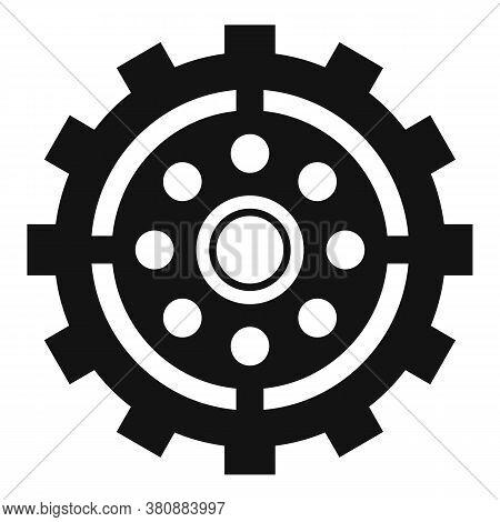Broken Watch Cog Wheel Icon. Simple Illustration Of Broken Watch Cog Wheel Vector Icon For Web Desig