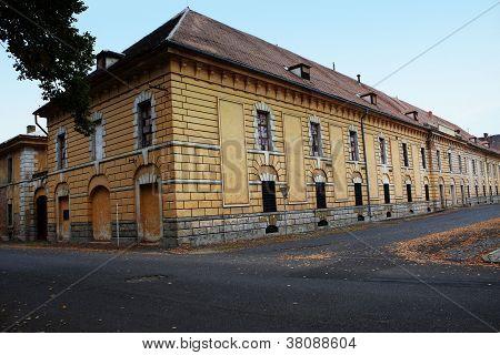 A Historical Building In Terezin