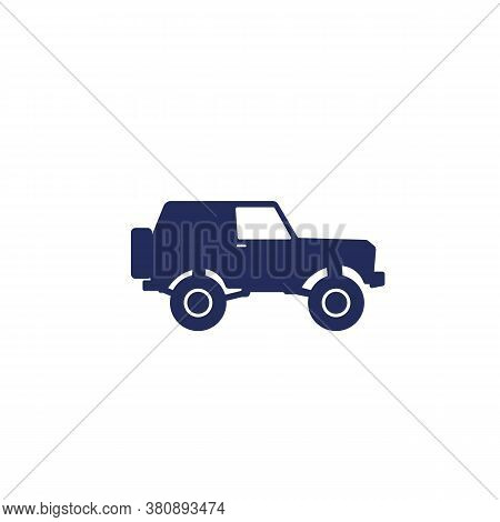 Off-road Car, 4wd Suv Icon, Eps 10 File, Easy To Edit