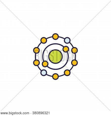 Antioxidant Icon, Vector On White, Eps 10 File, Easy To Edit