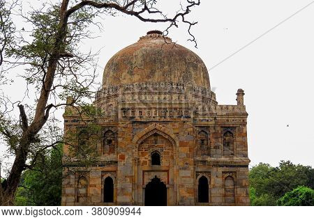 Sample Of Ancient Indian Architecture Of The Xv Century - The Tomb Of One Of The Mughal Rulers Of De
