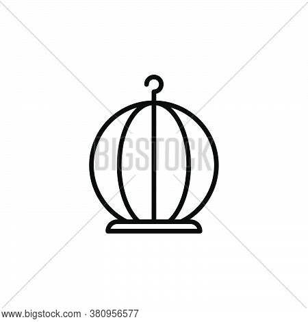 Illustration Vector Graphic Of  Birdcage Icon Template