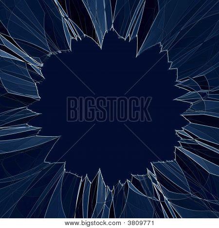 Shattered Broken Glass