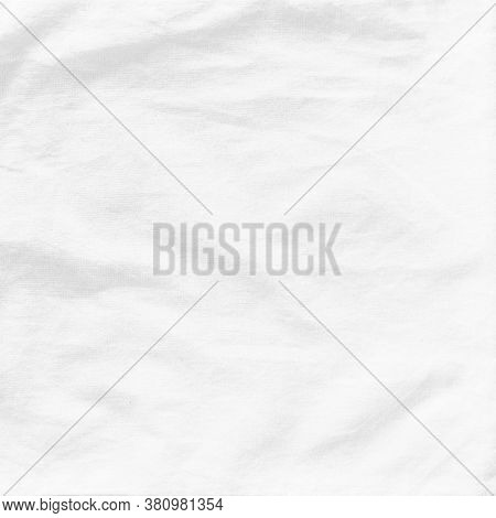 White Cotton Muslin Cloth Texture Background Burlap Natural Lightweight Fabric Textile For Wallpaper