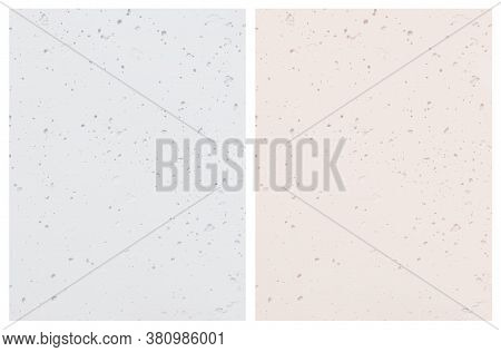 Pastel Color Textured Vector Background. Light Blue And Light Cream Concrete Wall. Rough Grunge Back