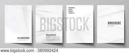 Vector Layout Of A4 Cover Mockup Design Template For Brochure, Flyer Layout, Booklet, Cover Design,
