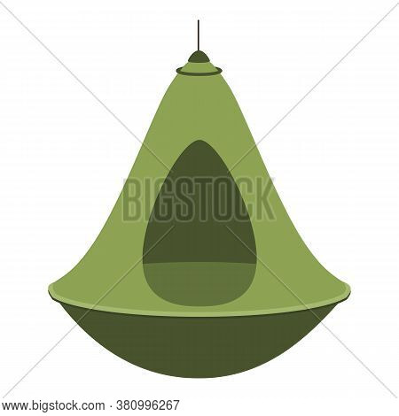 Lamp Hammock Icon. Cartoon Of Lamp Hammock Vector Icon For Web Design Isolated On White Background