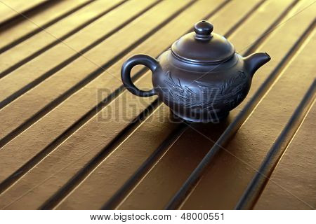 Zisha Teapot On The Desk