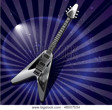 Vector Flying V Style Electric Guitar