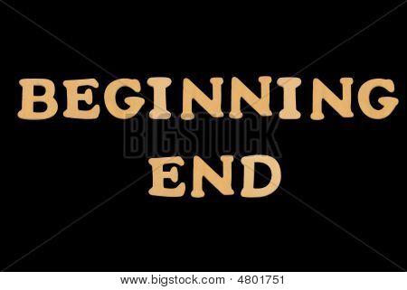 Wooden Word Beginning-end