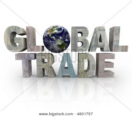 Global Trade Words - World Currencies