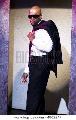 Minister Beau Harris New York Schauspieler Porträt