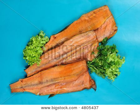 Smoked red fish