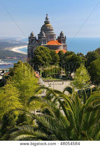 Old church near Viana do Castelo, Portugal
