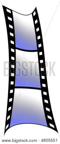Film Strip Blue